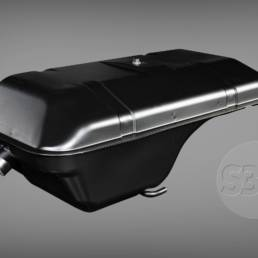 Datsun 240Z fuel tank - bottom side