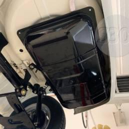 Datsun 240Z fuel tank - mounted under car